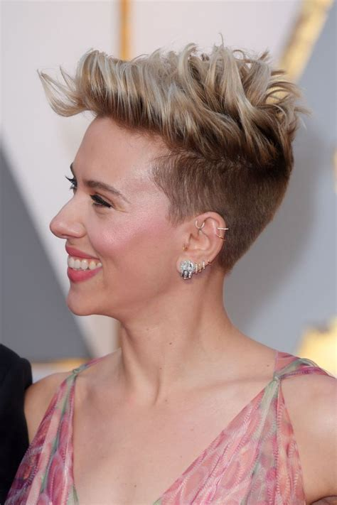 scarlettjohanssonhaircut at the oscars 1000 ideas about scarlett johansson on pinterest