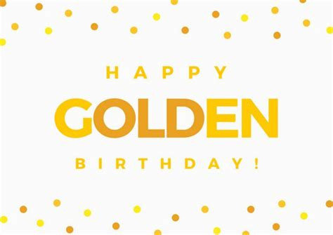 Golden Birthday Cards Yellow Red Teal Funny Birthday Card Templates By Canva