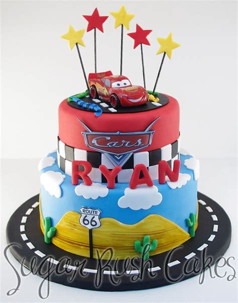 Cars Themed Birthday Cake Ideas by Disney Cars Cake Search 4th Birthday In 2018