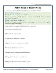 active voice and passive voice worksheet abitlikethis