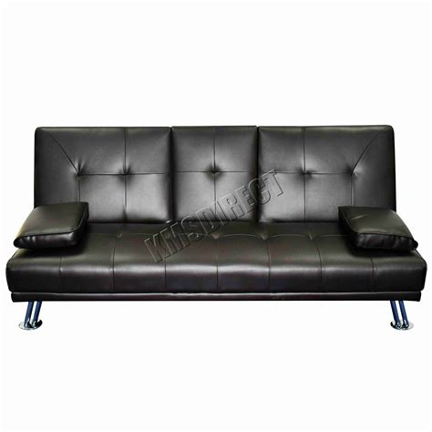 Manhattan Leather Sofa by Faux Leather Manhattan Sofa Bed Recliner 3 Seater Modern