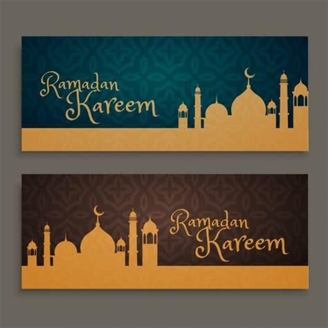 bnrat rmdan fktor oaslamy ramadan kareem banners islamic