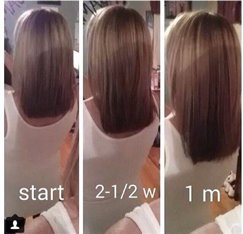 growing hair out month by month musely