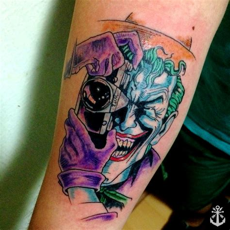 dc tattoos joker the killing joke dc