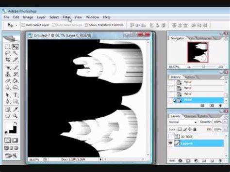 tutorial dasar adobe photoshop cs2 photoshop cs2 3d text tutorial youtube