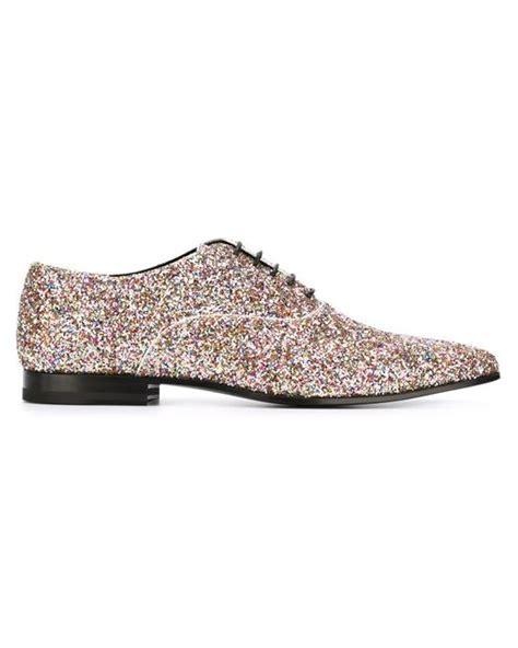 sparkle oxford shoes laurent glitter embellished oxford shoes in
