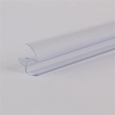 Glass Shower Door Bottom Seal 3 8 Quot Frameless Glass Shower Door Bottom Seal Sweep Drip Rail Clear Plastic 36 Quot Ebay