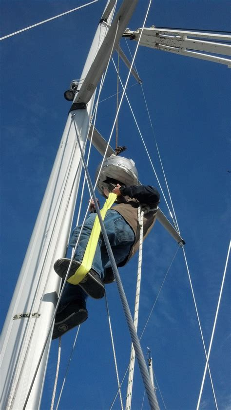 zeil mast un stepping the mast the rigging company