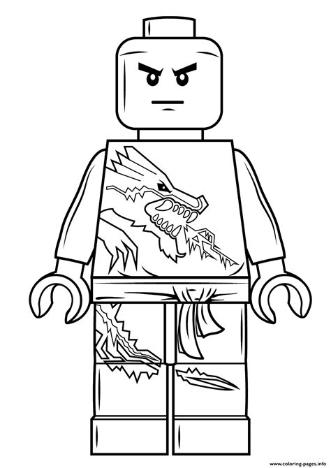 lego ninjago rebooted coloring pages zane lego ninjago free coloring pages