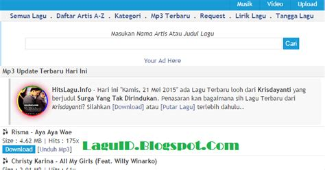 download mp3 barat terbaru 2015 rar hitslagu info tempat download lagu mp3 terbaru gratis