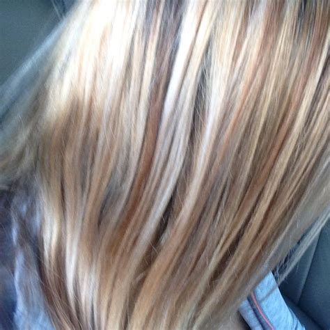 caramel and platinum hair color 17 best images about cool blonde highlights on pinterest