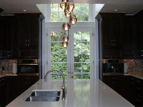kitchen backsplash with patio doors glass bubbles chandelier design ideas