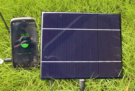 Kualitas Bagus Charger Htc 5v 1a Original 100 5w 1a 5v portable solar powered battery backup charger panel samsung galaxy htc ebay