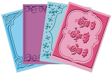 cuttlebug embossing folder bundle quot winter frolic quot