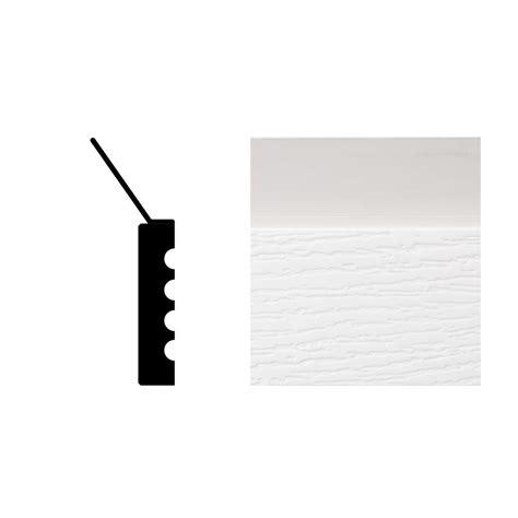 2149 7 16 In X 2 In X 7 Ft Pvc Composite White Garage Garage Door Stops