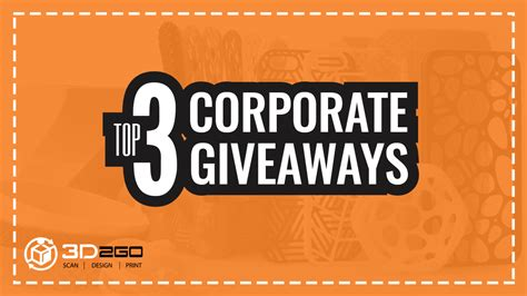 Top Corporate Giveaways - 3d2go philippines 3d printing philippines