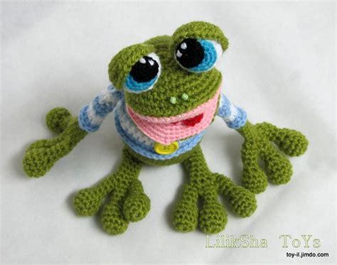 amigurumi pattern frog amigurumi pattern mr the frog by liliksha craftsy