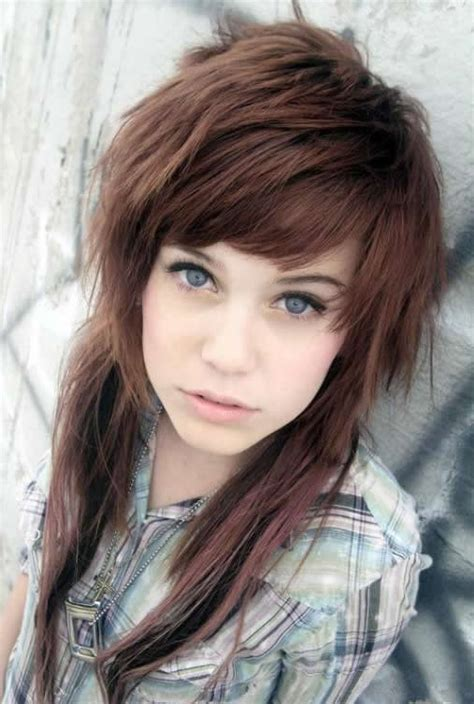 The most beautiful emo girl hairstyles / Trendy emo