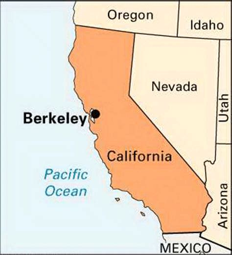 berkeley cus map berkeley location encyclopedia children s homework help dictionary