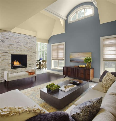 Colors For Living Room Walls by Vaulted Living Room Ideas Homesfeed