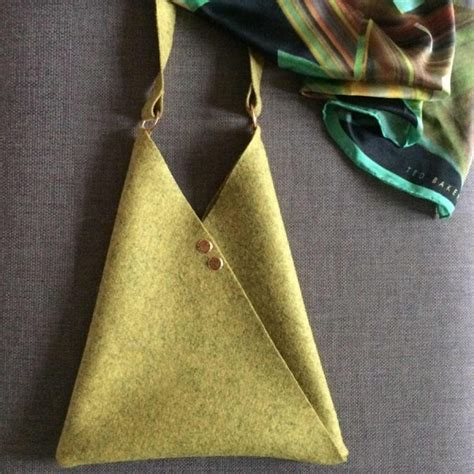 Origami Purse Pattern - make an origami bag free sewing pattern sew different