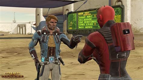 star wars the old republic smuggler gunslinger контрабандист smuggler class в star wars the old