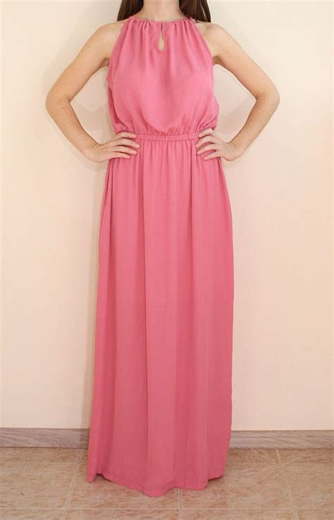 Maxy Pink pink maxi dress dressed up