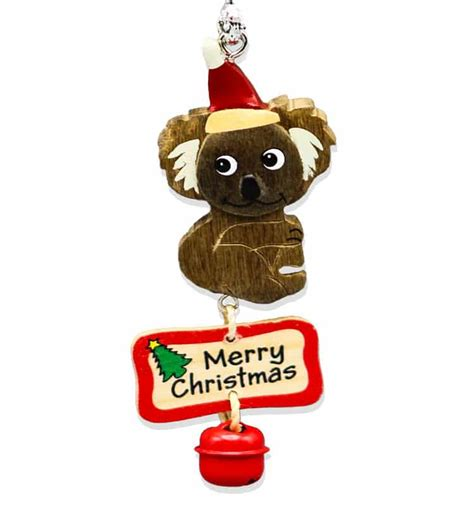 australian christmas decorations wholesale koala bell decoration australia the gift australian souvenirs gifts