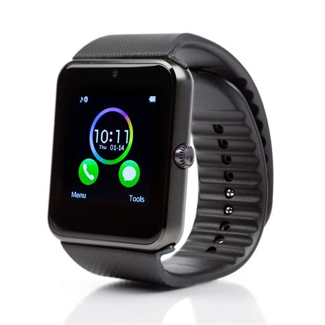 GT08 Smart Watch Bluetooth Smartwatch SIM Card Watch Phone Android iPhone IOS   eBay