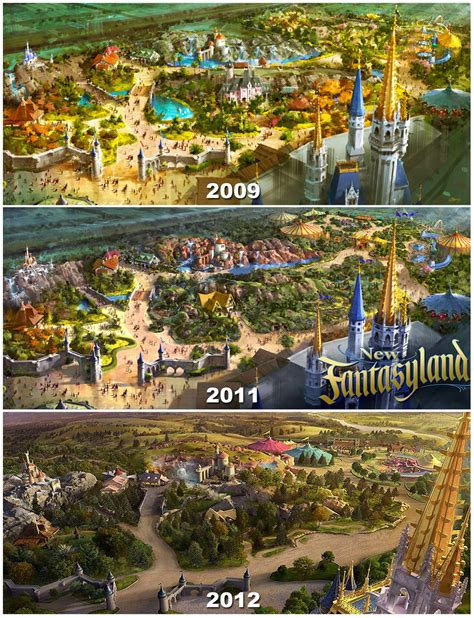 disney world welcomes new fantasyland attractions this fantasyland expansion magic kingdom construction updates