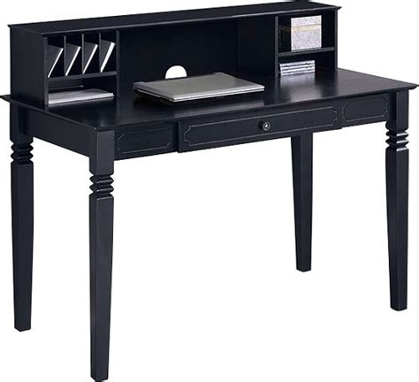 Walker Edison Computer Desk Walker Edison Computer Desk With Hutch Bbw48s30 Dhbl Best Buy