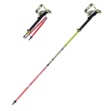 folding walking stick with light ultra light folding nordic walking poles carbon fiber