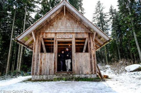 Hütte by Westweg Winter Wanderung Etappe 3 Forbach Nach Unterstmatt