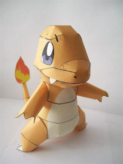 Papercraft Charmander - papercraft charmander by bahamut eternal on deviantart