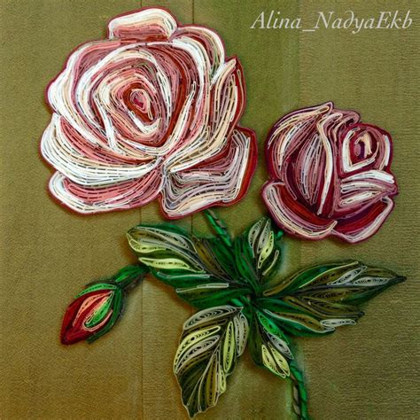 quilling paper rose tutorial 25 best ideas about quilled roses on pinterest quilling
