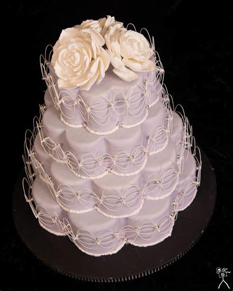 shaped cake petal shaped wedding cake succulent flowers top an