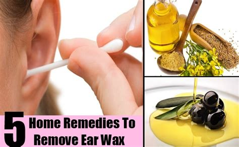 5 home remedies to remove ear wax search home remedy