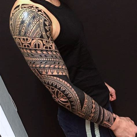 collection of 25 sleeve tattoo of tribal