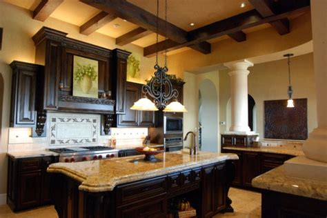 mediterranean kitchen cabinets tuscan on pinterest mediterranean kitchen old world