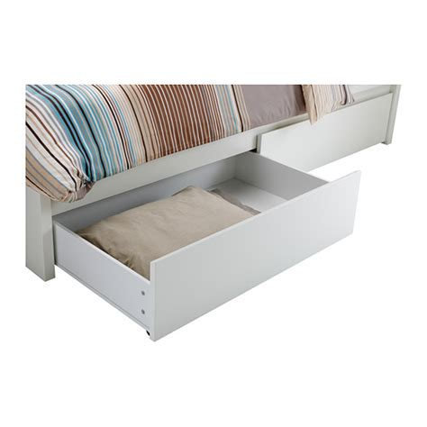 ikea malm headboard storage malm bed frame with 4 storage boxes white lur 246 y standard