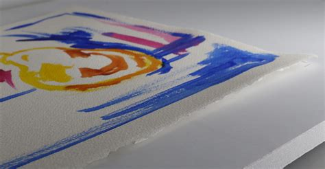 acrylic paint paper paper warping when painting with acrylics just paint