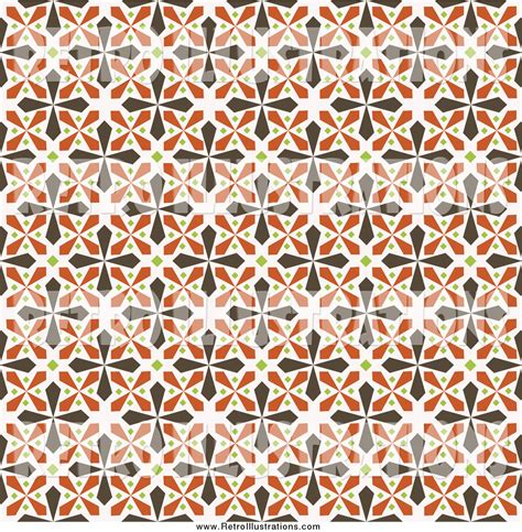 green kaleidoscope wallpaper retro illustration of a seamless background of brown