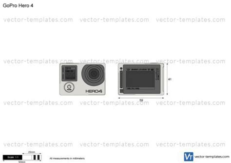 templates miscellaneous other gopro hero 4