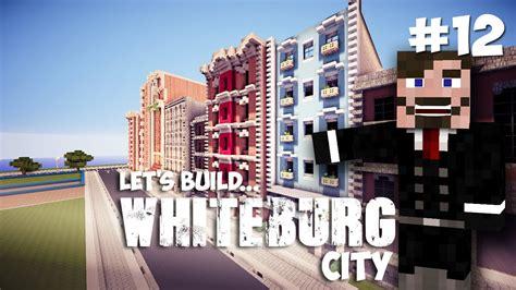 Minecraft Lets Build Whiteburg City   Row/Brownstone