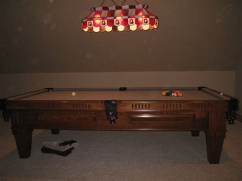 proline 9 pool table columbus 43123 4200 sporting