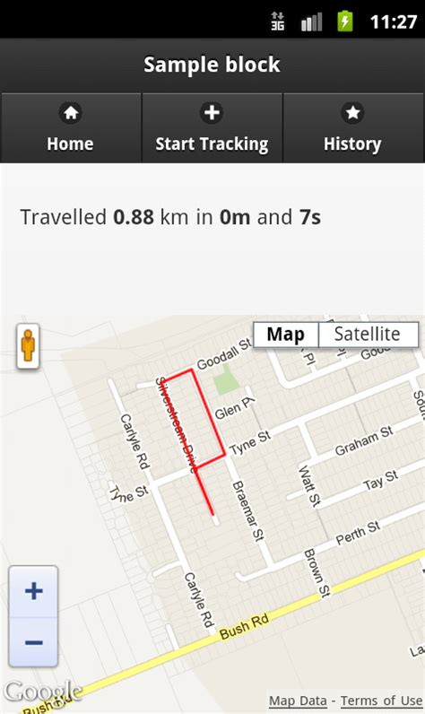 build an exercise tracking app geolocation tracking