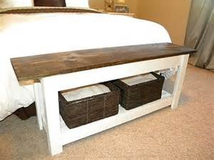 Diy Bedroom Bench Diy End Of Bed Bench Master Bedroom