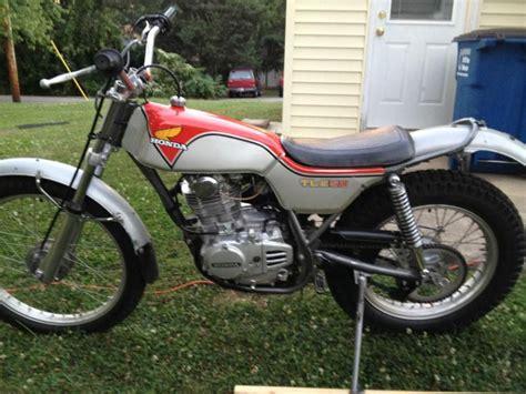 honda motorcycles for sale by owner andrew motoblog buy honda tl250 trails tl 250 on 2040 motos