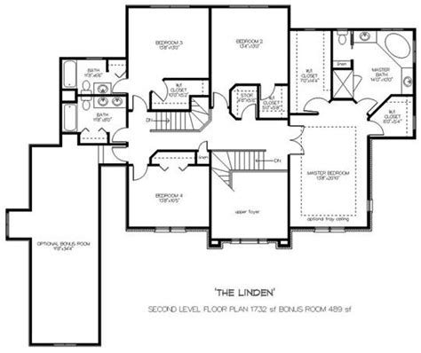 upstairs floor plans custom home builders johnson building