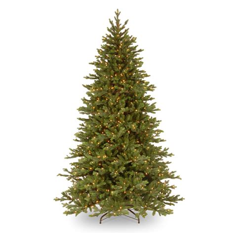 national tree co pre lit 7 5 green yukon fir artificial